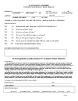 Wheelchair Request Form